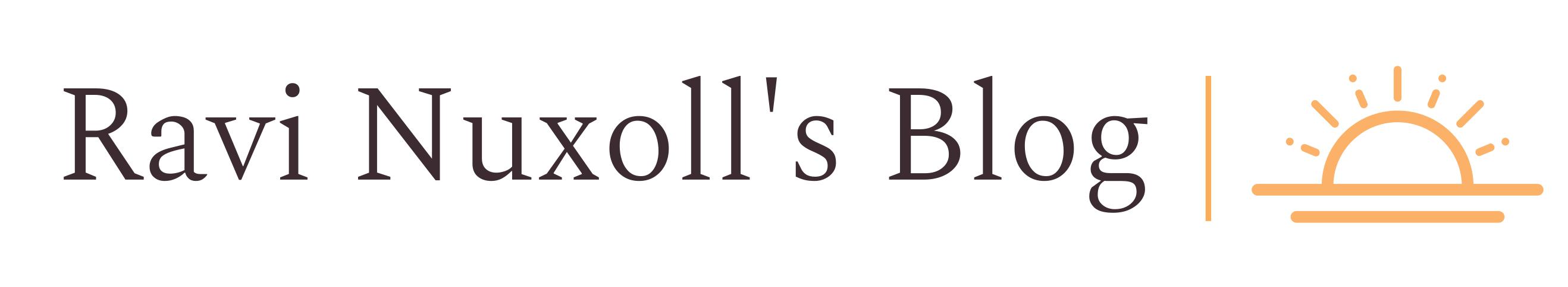 Ravi Nuxoll's Blog